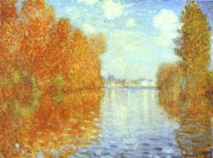 Monet Autumn in Argentuil
