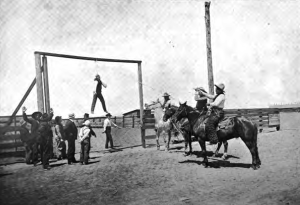 Horse thief hanging 1900 Wikipedia.com