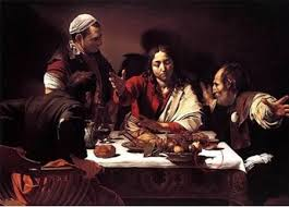 The Supper at Emmaus Caravaggio