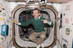 Chris Hadfield, Canadian Astronaut, St. Patrick's Day 2013 - International Space Station (Amateur Radio Call VA3OOG)