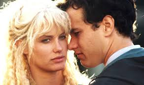 "Daryl Hannah & Tom Hanks in ""Splash"""