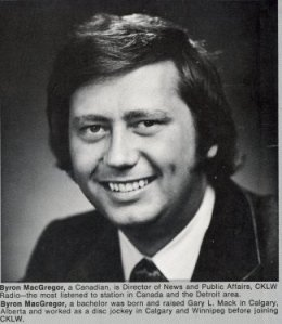 Byron MacGregor