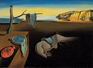 The Persistence of Memory Salvador Dali (and his mustache) Courtesy about.com