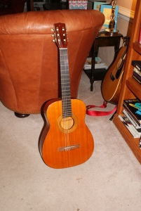 Harmony guitar after a little TLC